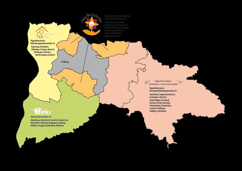Zuständigkeitsbereiche Landkreis